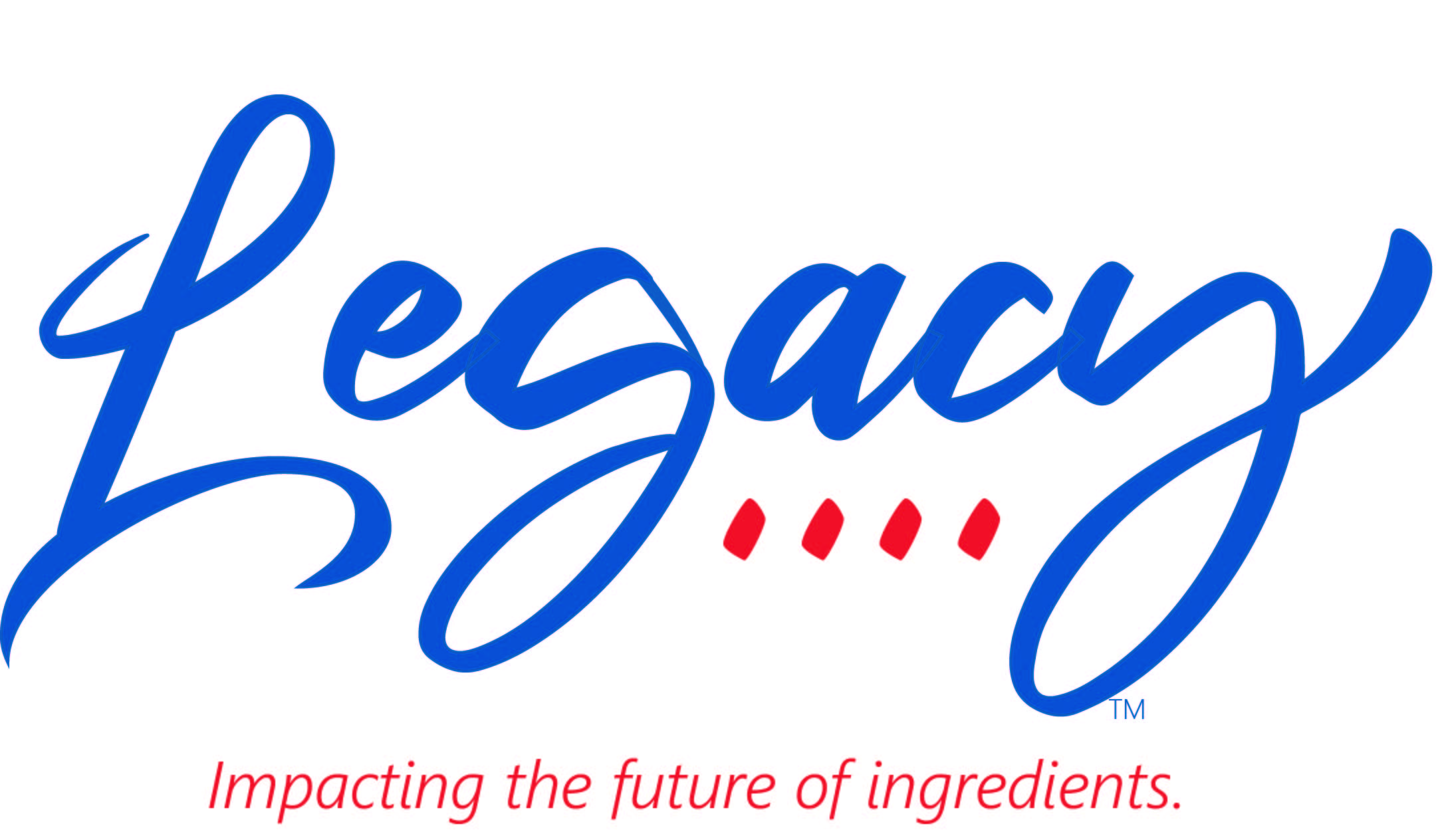 Legacy Brand with tagline stacked